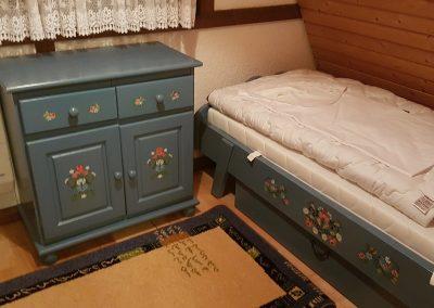 Ferienhaus-Fichtelgebirge-Nagel-am-see-Schlafzimmer