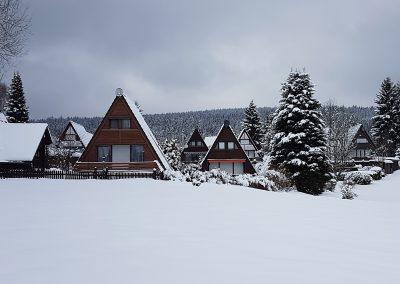 Ferienhaus-Fichtelgebirge-Nagel-am-see-Winter-Ansicht-03