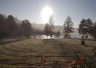 Haus-Seewiese-Nagel-Sonnenuntergang